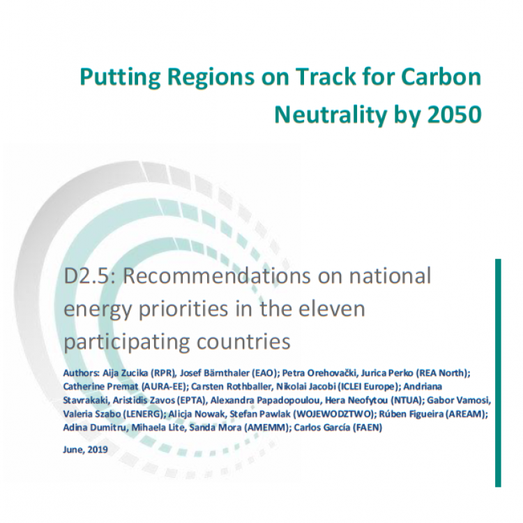 Recommendations report on national energy priorities in 11 EU countries